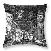 John Of Leiden (1509-1536) Throw Pillow