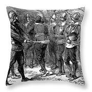 John Oldham (d. 1636) Throw Pillow