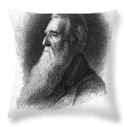John Ruskin Throw Pillow