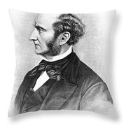 John Stuart Mill Throw Pillow