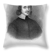 John Winthrop The Younger Throw Pillow by Granger