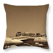Joint Operations Squadron  Throw Pillow