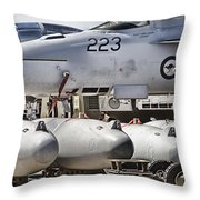 Joint Operations Squadron V4  Throw Pillow