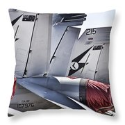 Joint Operations Squadron V5 Throw Pillow
