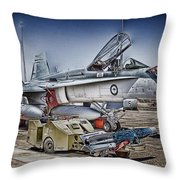 Joint Operations V3 Throw Pillow