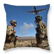 Joint Terminal Attack Controllers Call Throw Pillow