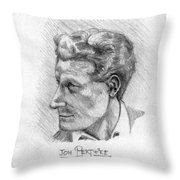 Jon Pertwee 1955 Throw Pillow