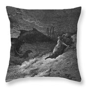 Jonah & The Whale Throw Pillow