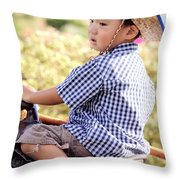 Jonah And Elijah 6 Throw Pillow