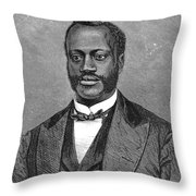 Jonathan Wright (1840-1885) Throw Pillow