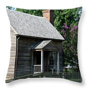 Jones Law Office Appomattox Court House Virginia Throw Pillow by Teresa Mucha