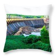 Jordan Dam Throw Pillow