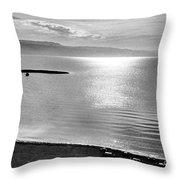 Jordan: Dead Sea, 1961 Throw Pillow by Granger