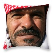 Jordanian Man Throw Pillow