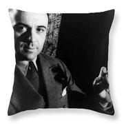 Jose Iturbi 1895-1980 Throw Pillow