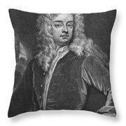 Joseph Addison (1672-1719) Throw Pillow