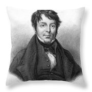 Joseph Grimaldi (1779-1837) Throw Pillow
