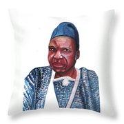Joseph Ki-zerbo Throw Pillow