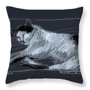 Joujou 3 Throw Pillow