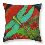 Journey At Dawn Throw Pillow