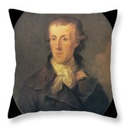 J.p. Brissot De Warville Throw Pillow by Granger