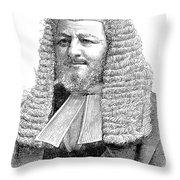 Judah Philip Benjamin Throw Pillow