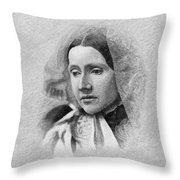 Julia Ward Howe (1819-1910) Throw Pillow