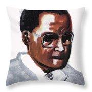 Julian Percy Throw Pillow