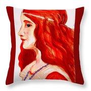 'juliet' Throw Pillow