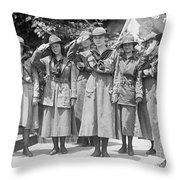Juliette Daisy Low, Founder Of The Girl Throw Pillow