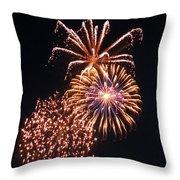 July Fourth 2012 O Throw Pillow