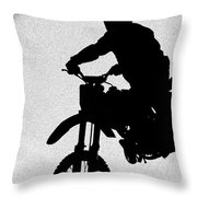 Jumping High Throw Pillow