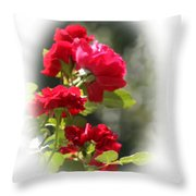 June Birthday Throw Pillow