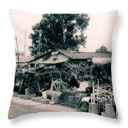 Junk Shop- Tallulah Louisiana Throw Pillow