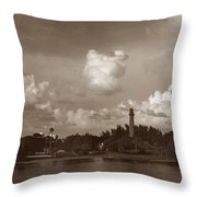 Jupiter Inlet  Throw Pillow