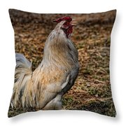 Just A Chicken Throw Pillow