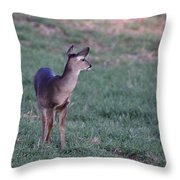 Just A Little Baby Throw Pillow
