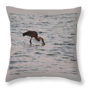 Just A Little Snack Throw Pillow