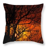 Just A Pretty Sunrise Throw Pillow