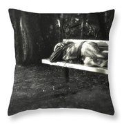 Just A Shadow Of Former Self Throw Pillow by Kelly Rader
