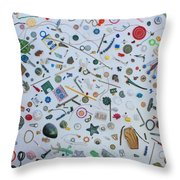 Just A Walk In The Park Throw Pillow