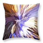 Just Abstract Iv Throw Pillow