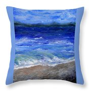 Just Beachy Redo Throw Pillow