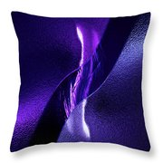 Just Below The Ice Throw Pillow