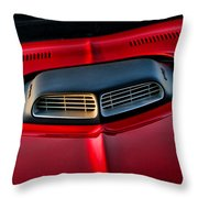 Just Breathe - 1971 Plymouth Hemicuda Throw Pillow