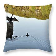 Just Hangin' Out Throw Pillow