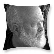 Just Jerry Throw Pillow
