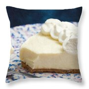 Just One Bite Of Key Lime Pie Throw Pillow