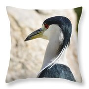 Just Over My Shoulder  Throw Pillow