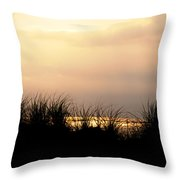 Just Over The Dune Throw Pillow